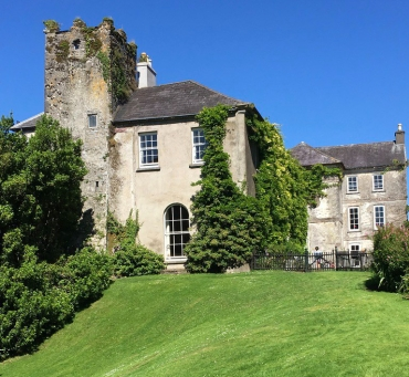 Ballymaloe up grassy hill